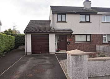 Thumbnail 3 bed semi-detached house for sale in Springfarm Road, Antrim