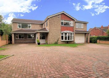 Thumbnail 5 bed detached house for sale in Fen Road, Washingborough, Lincoln