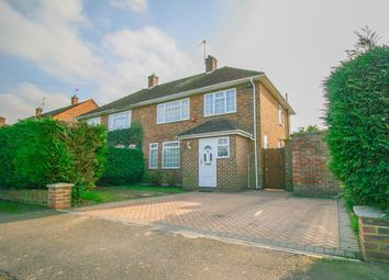 Thumbnail 3 bed semi-detached house for sale in Farnham Lane, Farnham Royal, Slough