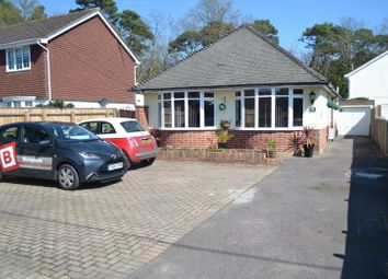 Thumbnail 3 bed detached bungalow for sale in Ringwood Road, Walkford, Christchurch
