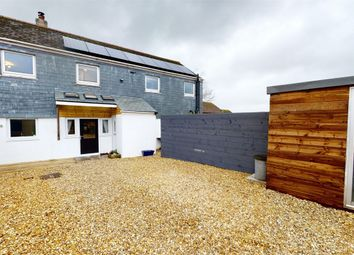 Thumbnail 3 bed semi-detached house for sale in Rectory Road, St Stephen, St Austell, Cornwall