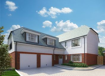 Thumbnail 5 bedroom detached house for sale in Hitches Lane, Fleet, Hampshire