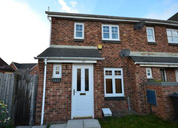 Thumbnail 2 bed end terrace house to rent in Chesters Avenue, Longbenton, Newcastle Upon Tyne