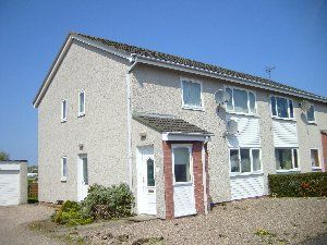 Thumbnail 2 bed flat to rent in Milnefield Avenue, Moray, Elgin
