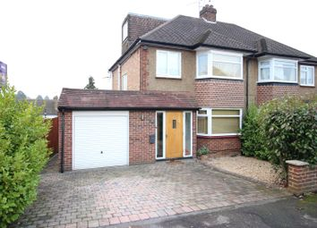 Thumbnail 4 bed semi-detached house for sale in Oaks Close, Leatherhead