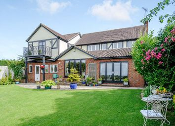 Thumbnail 4 bed detached house for sale in Blackthorn Close, Writtle, Chelmsford