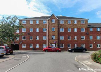 Thumbnail 2 bed flat to rent in Glan Rhymni, Splott, Cardiff