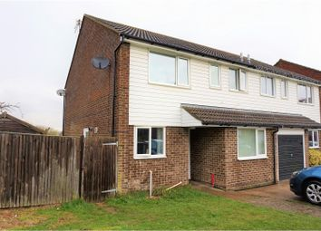 Thumbnail 3 bed semi-detached house for sale in Reedswood Road, St. Leonards-On-Sea