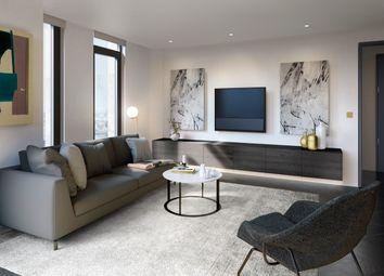 Thumbnail 2 bed flat for sale in The Waterman, Greenwich Peninsula, London SE10, London,
