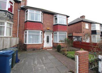 Thumbnail 2 bedroom flat to rent in Dipton Avenue, Newcastle Upon Tyne