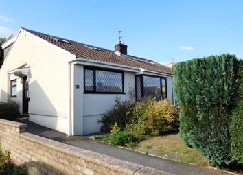 Thumbnail 3 bed semi-detached bungalow for sale in Legions Way, Gelligaer, Hengoed