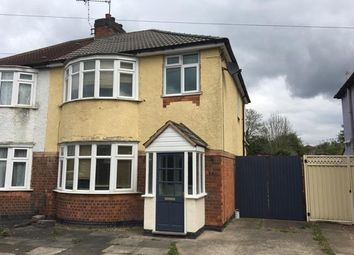 Thumbnail 3 bed semi-detached house to rent in Little Glen Road, Glen Parva, Leicester, Leicestershire