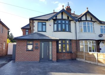 Thumbnail 4 bed semi-detached house for sale in Corden Avenue, Mickleover, Derby