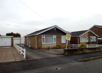 Thumbnail 2 bed detached bungalow for sale in Eddison Close, Worksop