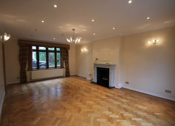 Thumbnail 4 bed detached house to rent in Tomswood Road, Chigwell