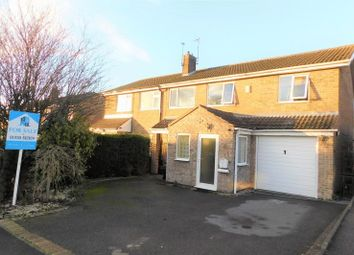 Thumbnail 4 bed semi-detached house for sale in Kirkhill Close, Coalville