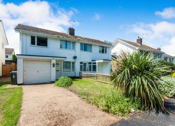Thumbnail 3 bed semi-detached house for sale in Starcross, Exeter, Devon