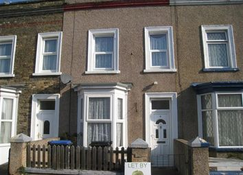 Thumbnail 3 bed terraced house for sale in Milton Avenue, Margate