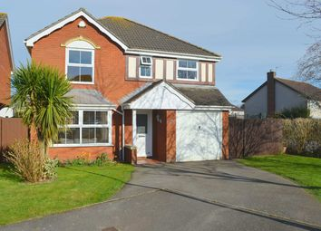 Thumbnail 4 bed detached house for sale in Windsor Gardens, Magor, Caldicot