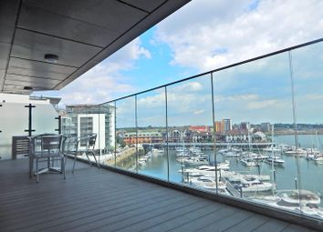 Thumbnail 2 bed flat for sale in The Hawkins Tower, Ocean Village, Southampton
