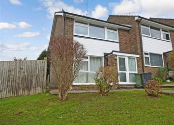Thumbnail 3 bed end terrace house for sale in Western Gardens, Crowborough, East Sussex