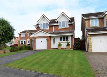 Thumbnail 3 bed detached house for sale in The Pastures, Coulby Newham, Middlesbrough