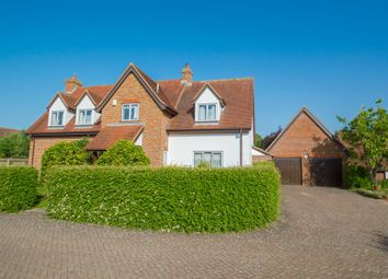 Thumbnail 4 bed detached house for sale in Rose Walk, Ridgewell, Halstead