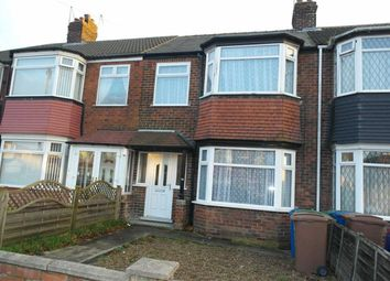 Thumbnail 3 bed terraced house to rent in Cottesmore Road, Hessle