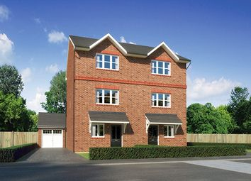 "Thumbnail 4 bed semi-detached house for sale in ""Buttermere"" At Scotchbarn Lane, Prescot L34, Prescot,"