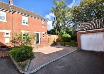 Thumbnail 3 bed end terrace house to rent in Kingfisher Grove, Three Mile Cross, Reading, Berkshire