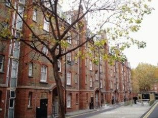 Thumbnail 2 bed flat for sale in Walton House, Montclare Street, London