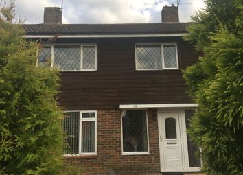 Thumbnail 3 bed terraced house to rent in Cuckmere Crescent, Gossops Green, Crawley