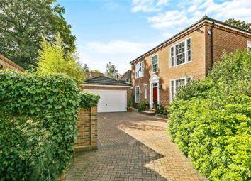 Thumbnail 4 bed detached house for sale in Herons Croft, Weybridge, Surrey