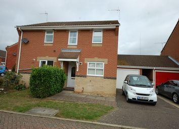 Thumbnail 2 bed semi-detached house to rent in Mannall Walk, Grange Farm, Ipswich, Suffolk