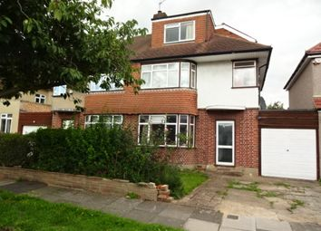 Thumbnail 4 bed semi-detached house for sale in Crosslands Avenue, Southall