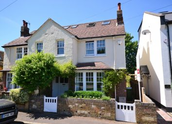 Thumbnail 3 bed semi-detached house for sale in Weston Park, Thames Ditton