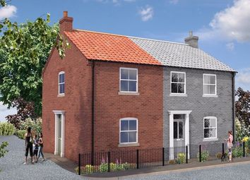 Thumbnail 2 bed semi-detached house for sale in North Street, Crowle, Scunthorpe