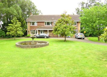 Thumbnail 5 bed detached house for sale in Padgetts Road, Christchurch, Wisbech