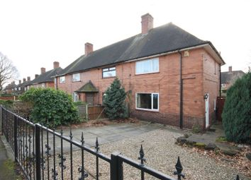 Thumbnail 2 bed end terrace house for sale in Rosecroft Drive, Daybrook, Nottingham