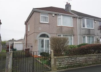 Thumbnail 3 bed semi-detached house for sale in Coombe Park Lane, Plymouth