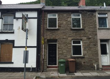 Thumbnail 2 bed terraced house to rent in Commercial Road, Abercarn, Newport