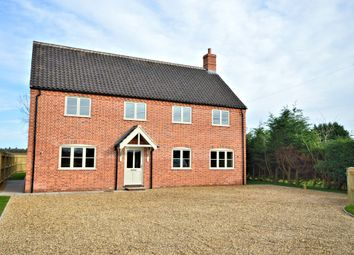 Thumbnail 4 bedroom detached house for sale in Brickfield Cottages, Norwich Road, Stibbard, Fakenham