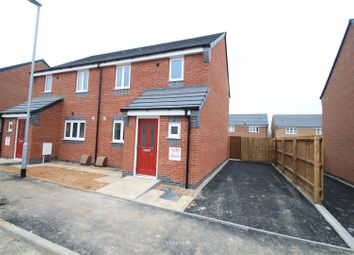 Thumbnail 3 bed semi-detached house to rent in Oronsay Close, Hinckley
