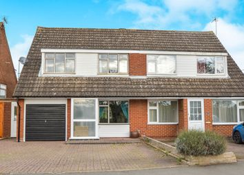 Thumbnail 3 bed semi-detached house for sale in Willow Crescent, Market Harborough