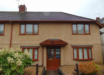 Thumbnail 3 bedroom semi-detached house for sale in Corporation Avenue, Llanelli