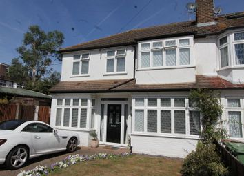 Thumbnail 4 bedroom end terrace house for sale in The Meads, North Cheam, Sutton