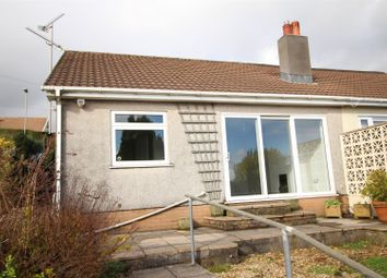 Thumbnail 2 bed semi-detached bungalow for sale in Arran Close, Risca, Newport