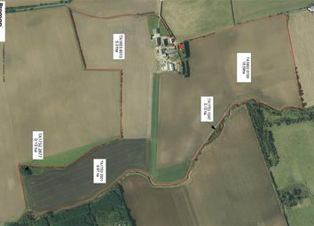 Thumbnail 5 bed farm for sale in Bewholme, Driffield