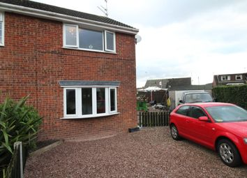 Thumbnail 2 bed semi-detached house for sale in Hawthorne Close, Congleton