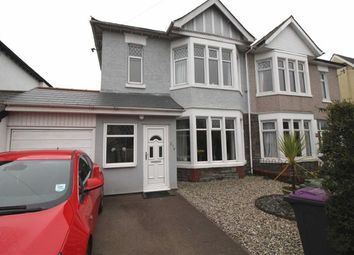 Thumbnail 3 bed semi-detached house for sale in Llantarnam Road, Cwmbran, Torfaen
